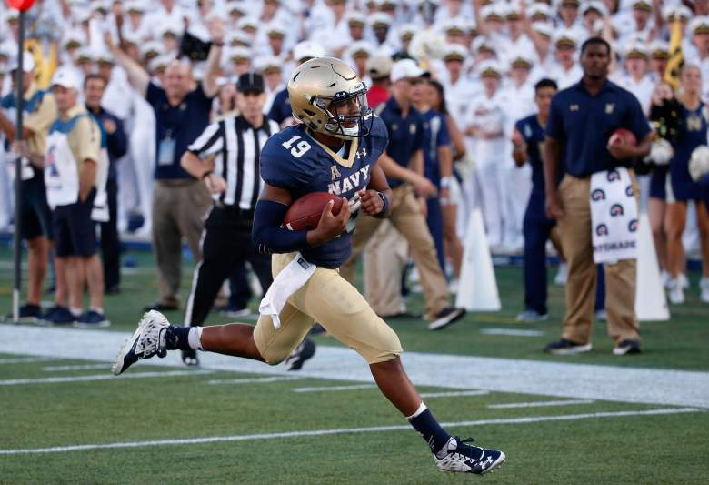 Keenan Reynolds is one of the most exciting players in college football. (Getty)