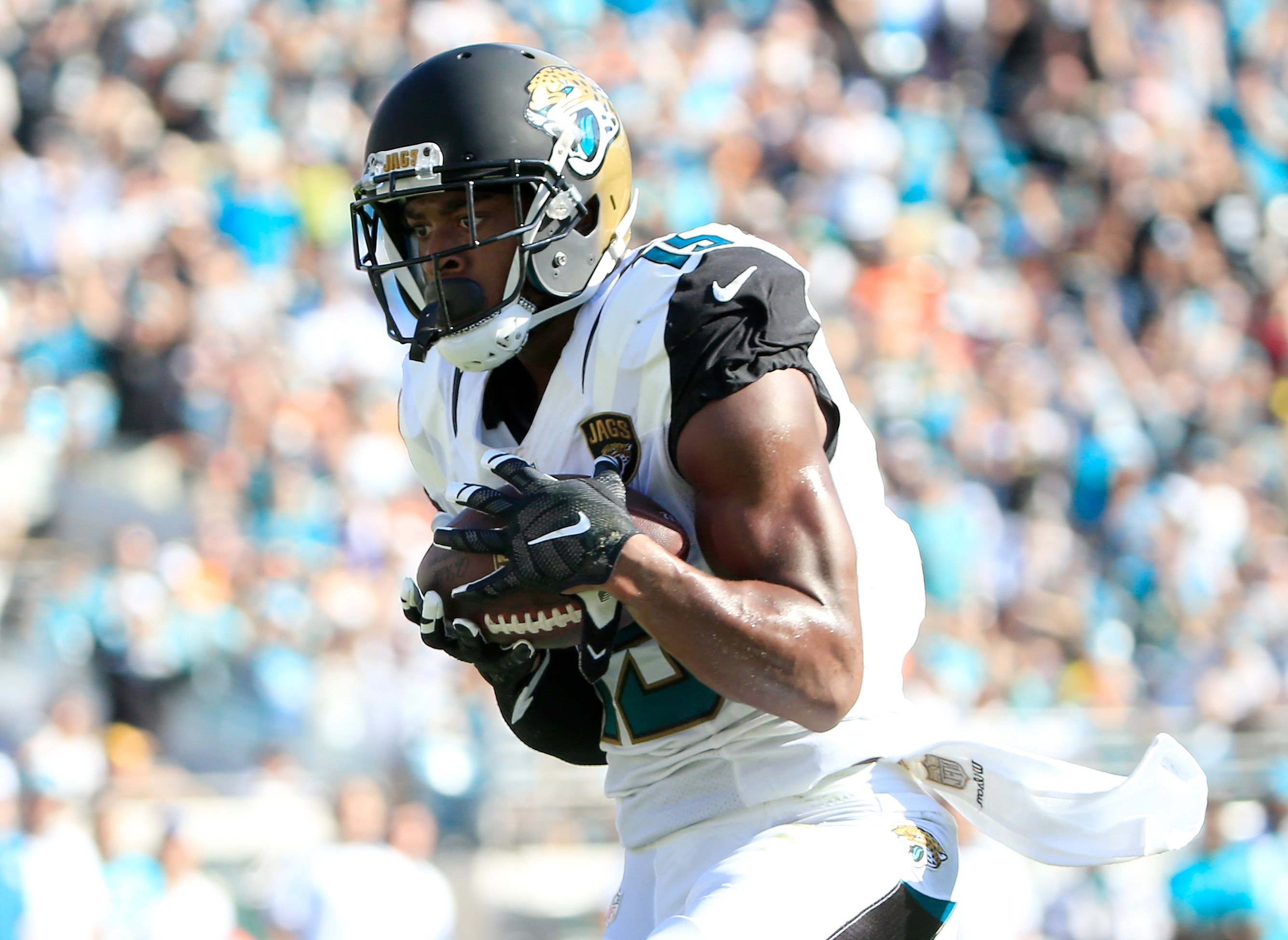 Allen Robinson has developed into the Jaguars' top receiver. (Getty)