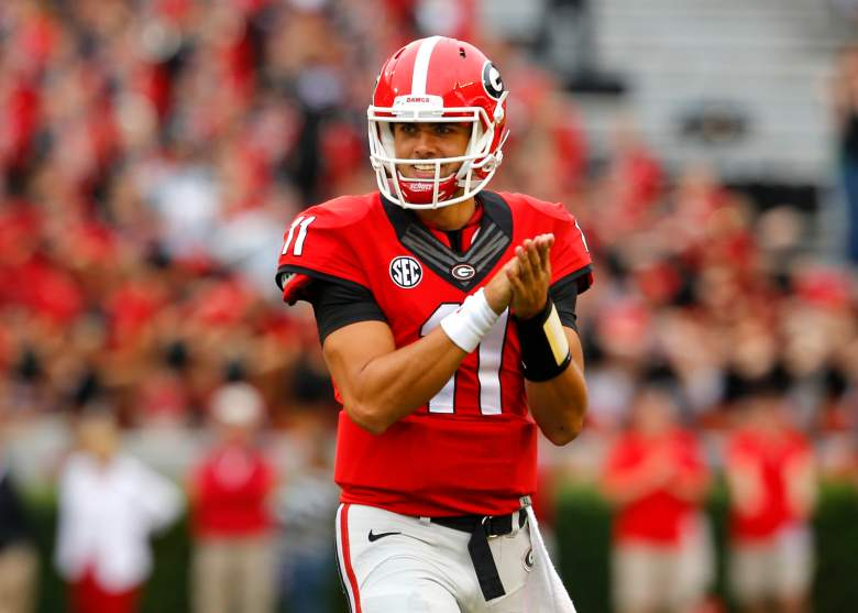 Greyson is the starting quarterback for Georgia. (Getty)