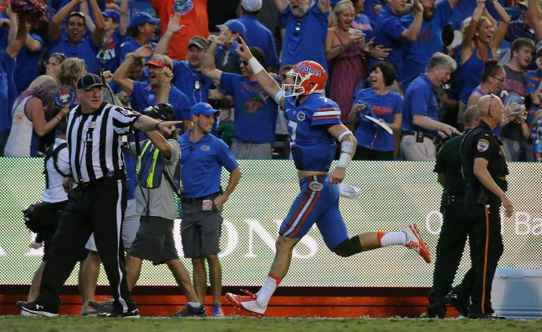 Will Grier and the Gators are surging. (Getty)