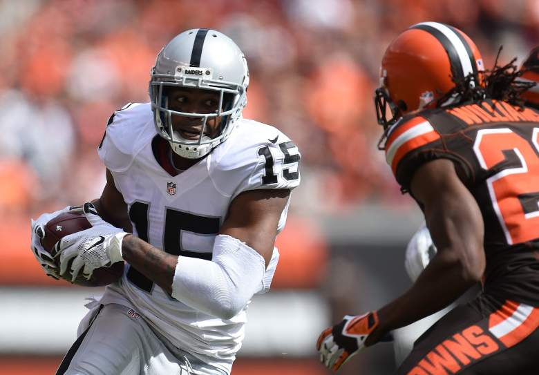 Michael Crabtree has given the Raiders another threat in the passing game. Getty)