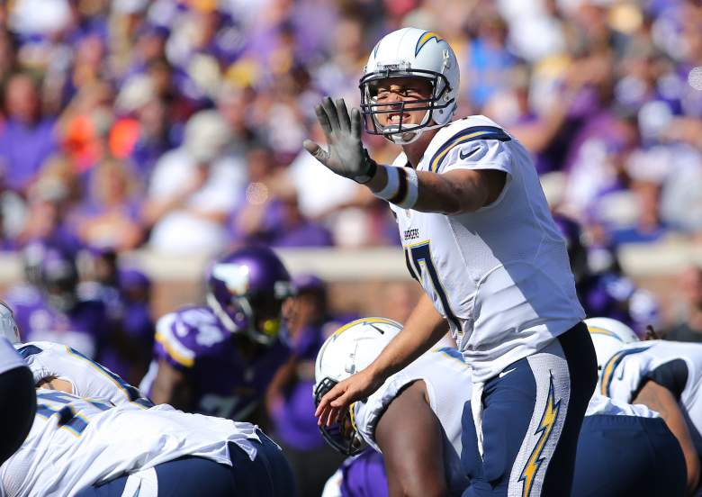 Philip Rivers get his top target back tonight. (Getty)