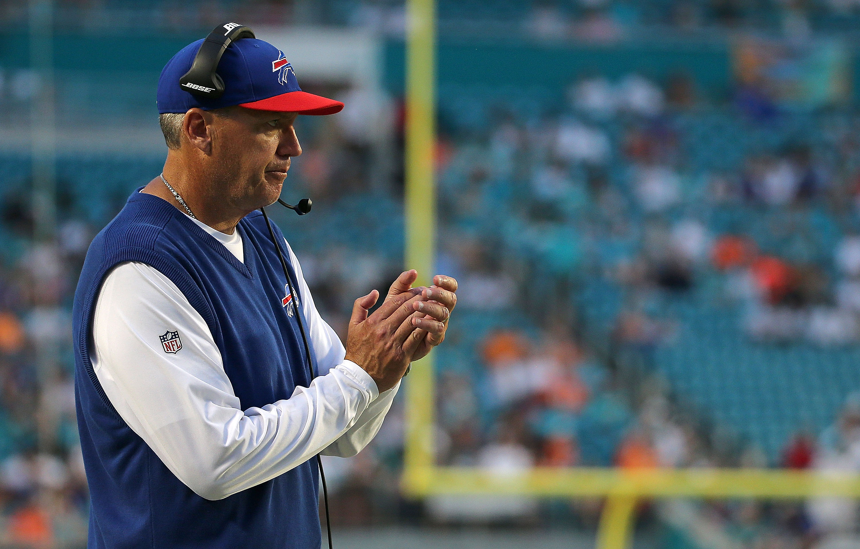 Rex Ryan has started 2-2 with the Buffalo Bills. (Getty)