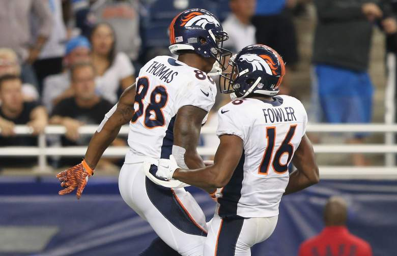 Demaryius Thomas is one of the best receivers in the NFL. (Getty)