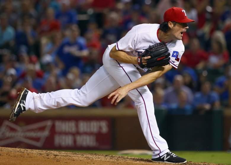 Cole Hamels, Texas Rangers, ALDS, MLB