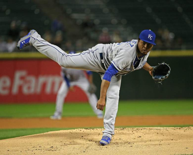 Edinson Volquez, Kansas City Royals, MLB