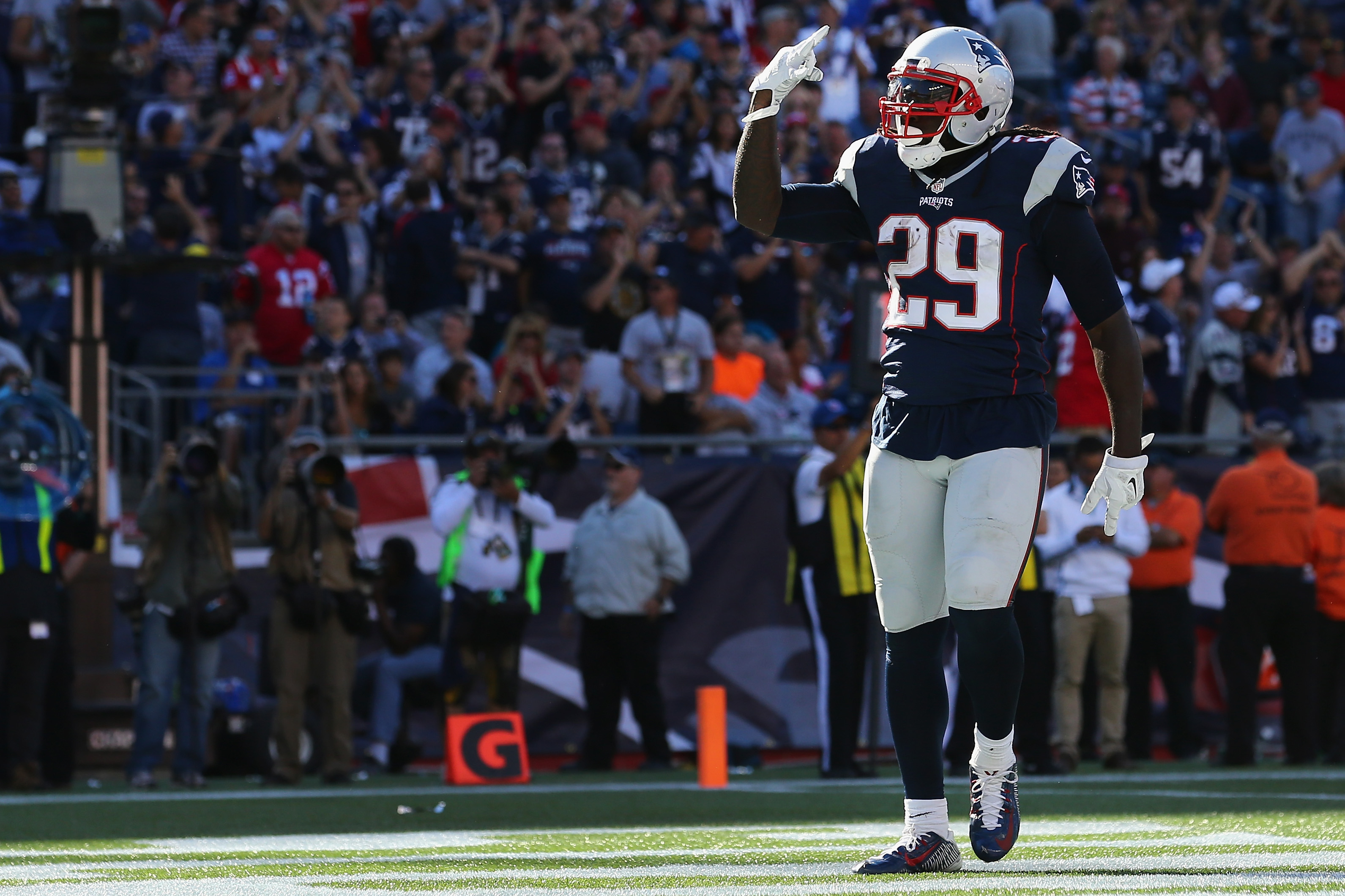 LeGarrette Blount has killed the Colts in previous meetings. (Getty)