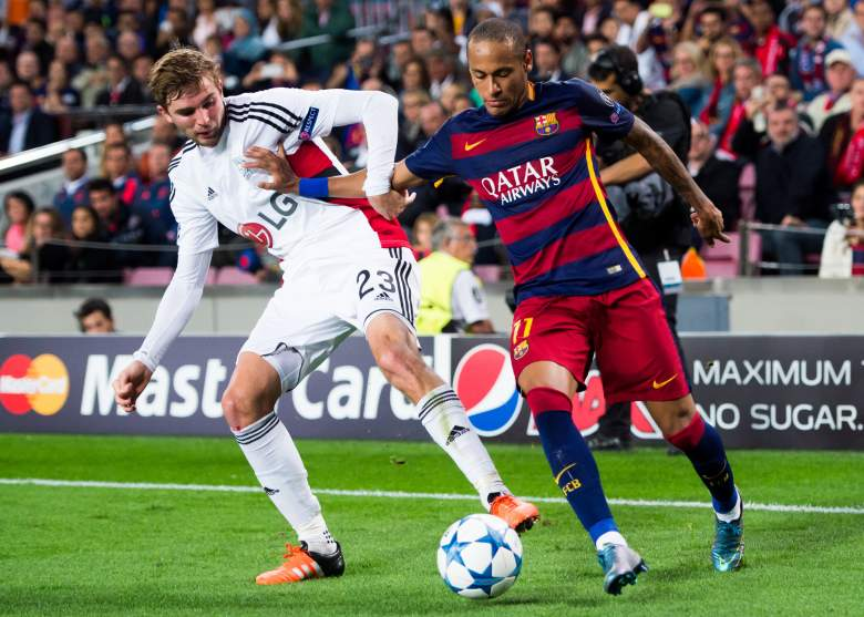Barcelona rallied to stun Leverkusen in Champions League action this week. Getty)