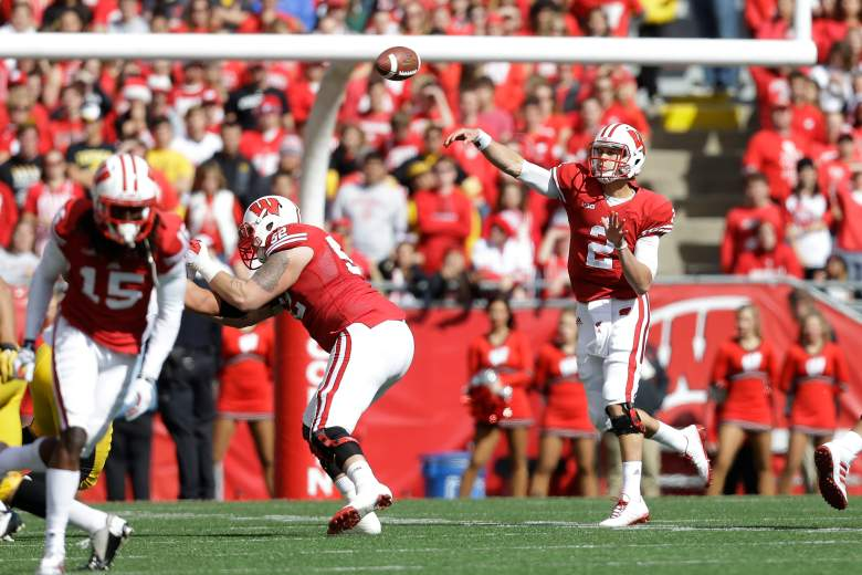 Wisconsin looks to get back on track against Nebraska. (Getty)