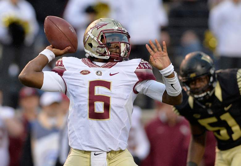 Everett Golson leads FSU against rival Miami. (Getty)
