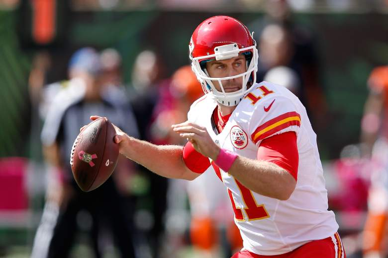 Chiefs QB Alex Smith has a favorable matchup vs. the Bears in Week 5. (Getty)