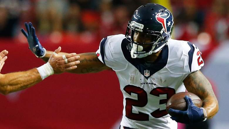 Arian Foster of the Texans should resume his role as the team's starting running back in Week 5. (Getty)