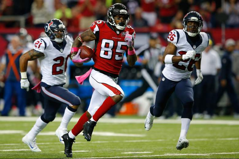 Falcons receiver Leonard Hankerson has become a favorite target of QB Matt Ryan. (Getty)