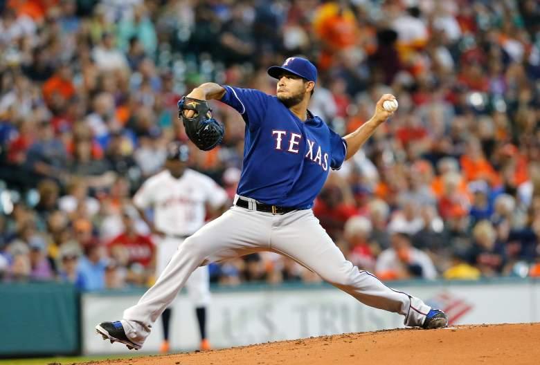 Martin Perez, Texas Rangers, MLB, ALDS
