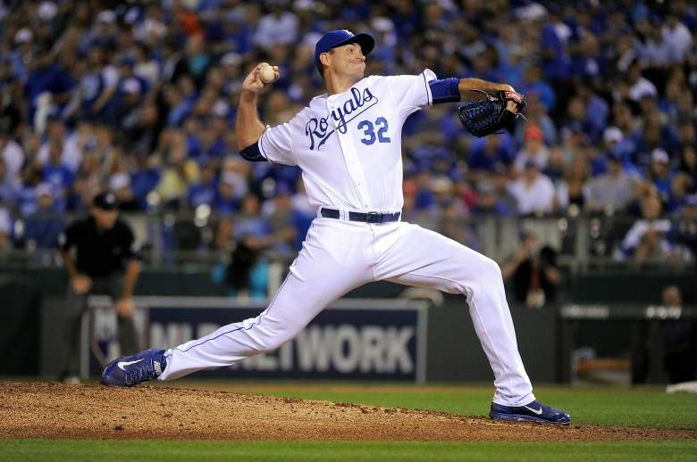Chris Young, Kansas City Royals, MLB, ALCS