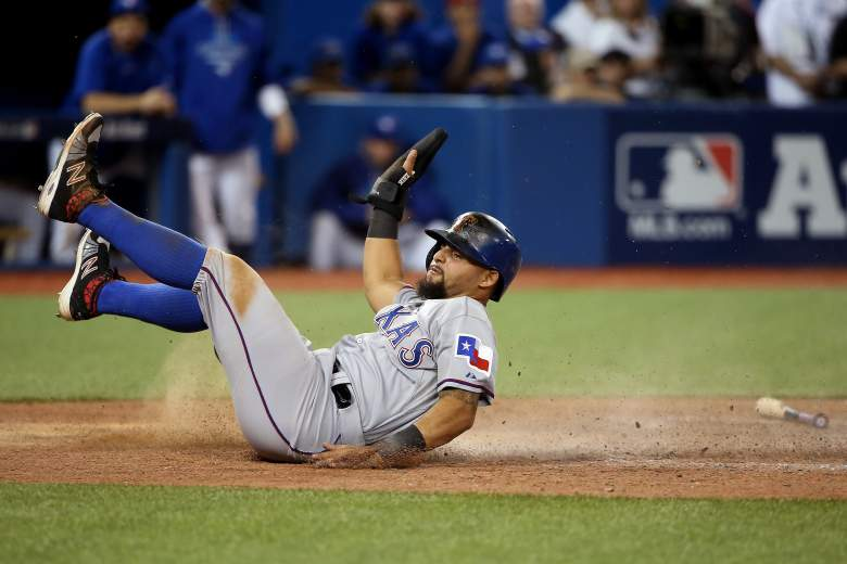 Rougned Odor, Toronto-Texas, Texas Rangers