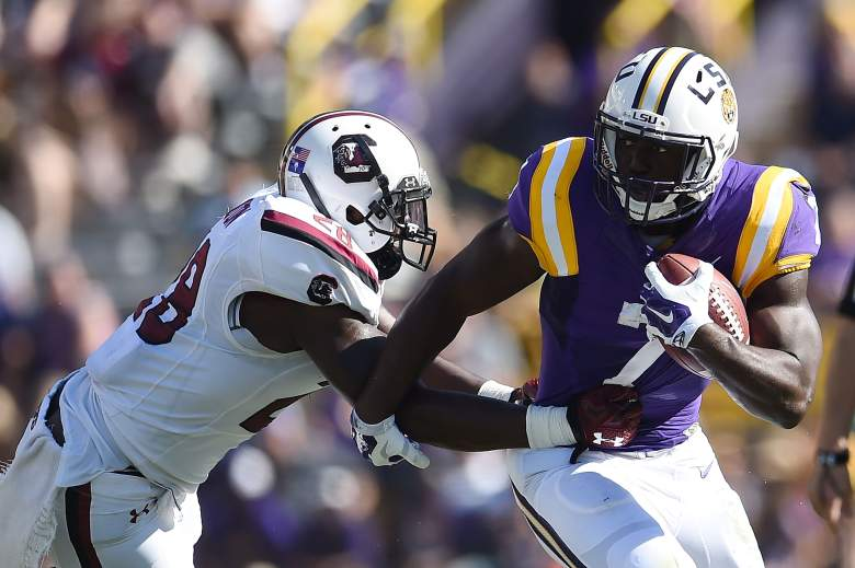 Leonard Fournette is the favorite to win the Heisman Trophy. (Getty)