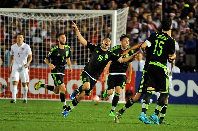 Mexico won a thrilling match against the United States. (Getty)