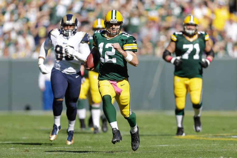 Aaron Rodgers is an MVP candidate. getty)