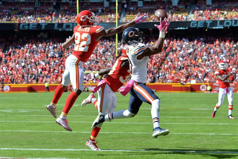 Marquess Wilson became the de facto No. 1 receiver last week in Chicago. Getty)