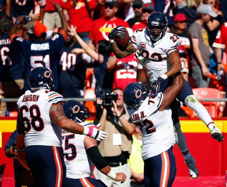 The Bears stunned the Chiefs last week with two late touchdowns. Getty)