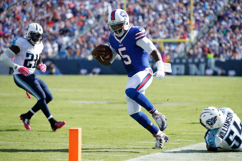 Tyrod Taylor is highly doubtful for Sundays game. Getty)