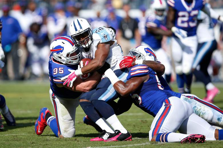 The Bills defense dominated Tennessee last week to improve to 3-2. Getty)