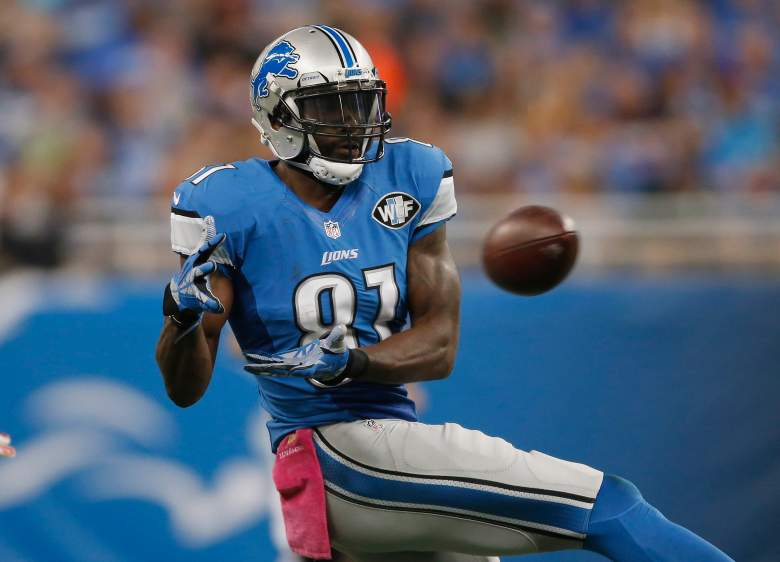 Calvin Johnson has 32 catches in five games in 2015. (Getty)