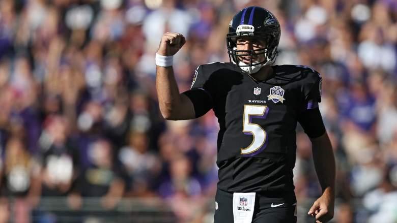 Joe Flacco, Baltimore Ravens, NFL