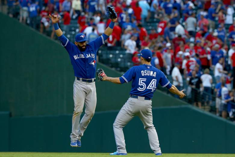 Toronto Blue Jays, Texas Rangers, ALDS