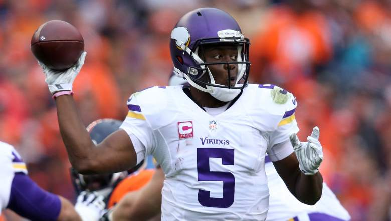 It's time to add Vikings quarterback Teddy Bridgewater to your fantasy team. (Getty)