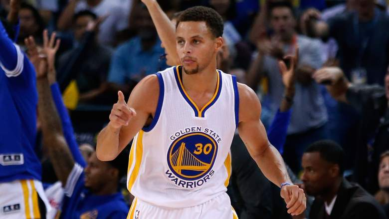 Steph Curry and the Warriors are the reigning NBA champions. (Getty)