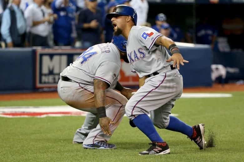 Rougned Odor run, Rougned Odor safe, Rougned Odor reason, ALDS, MLB