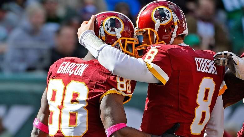 Kirk Cousins, Pierre Garcon, Washington Redskins, NFL, Football