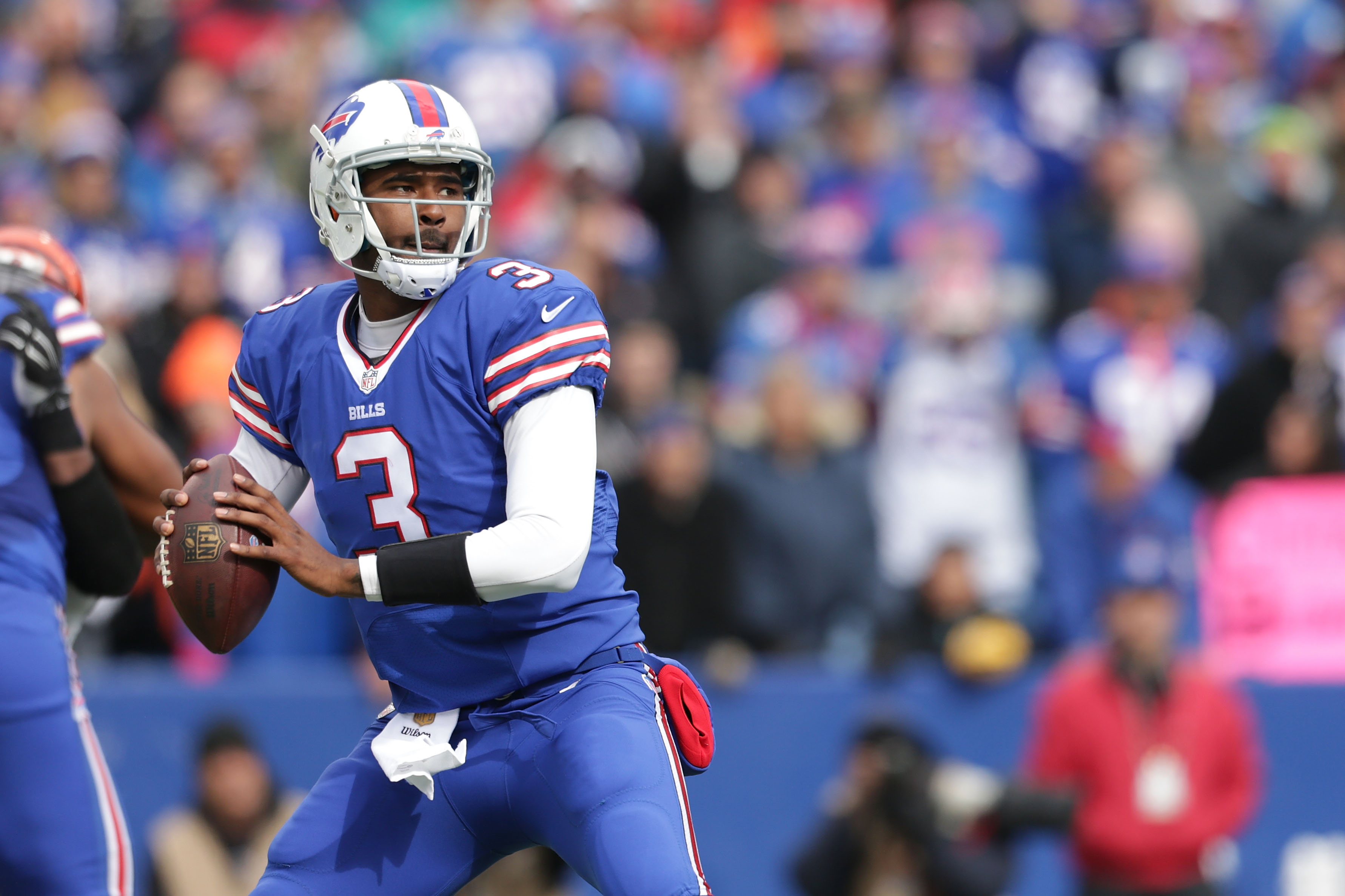EJ Manuel will make his second start for the Bills if Tyrod Taylor is still injured. (Getty)
