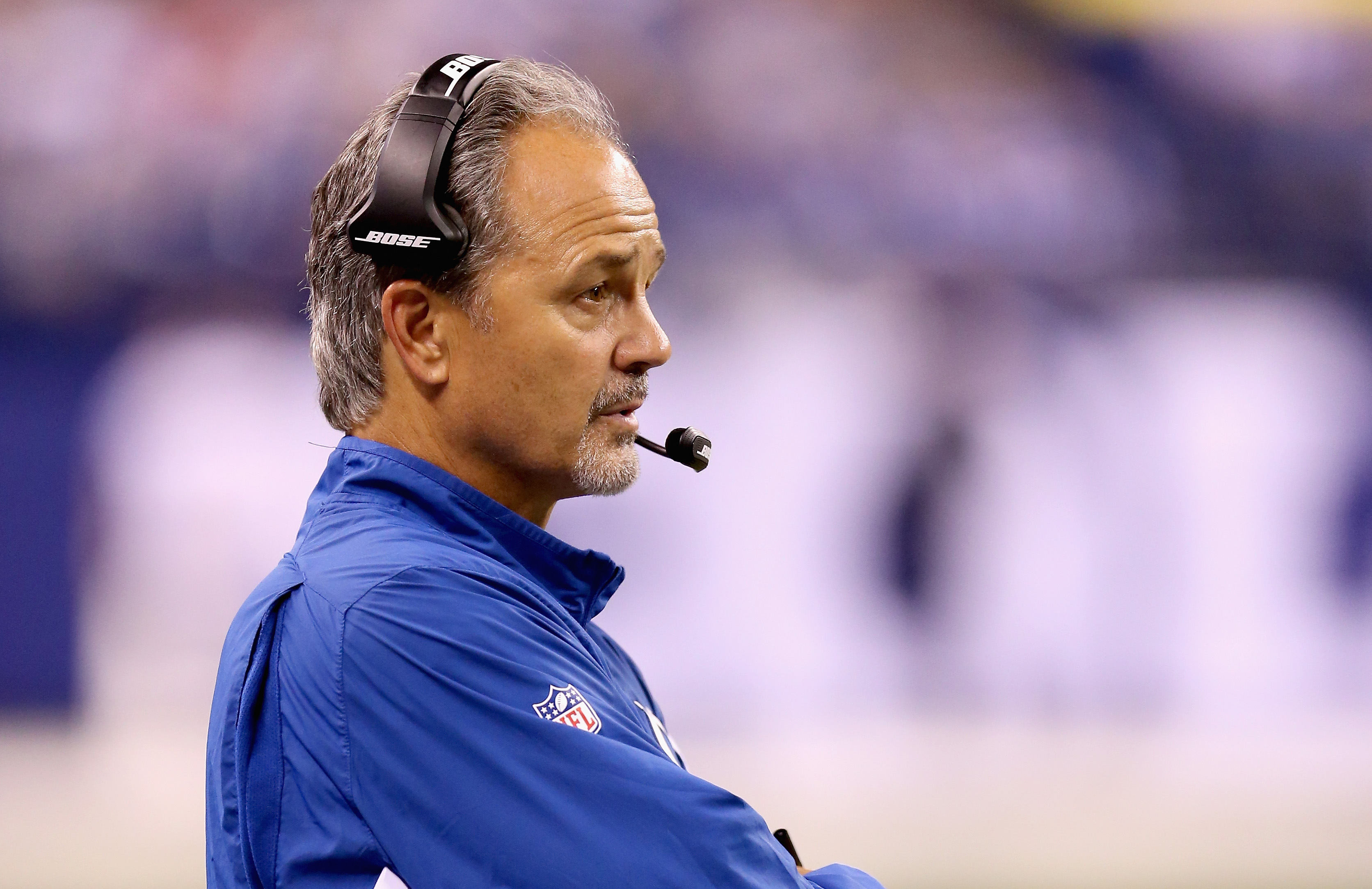 Chuck Pagano is facing heavy scrutiny after a botched fake punt last week. (Getty)