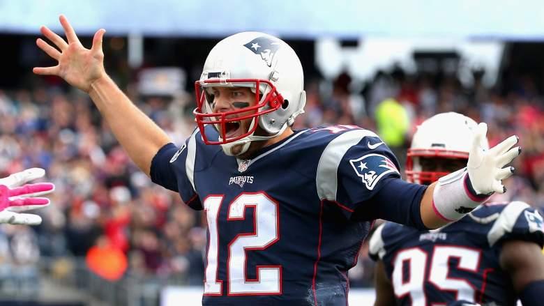 Patriots QB Tom Brady has given fantasy owners plenty of reason to celebrate. (Getty)