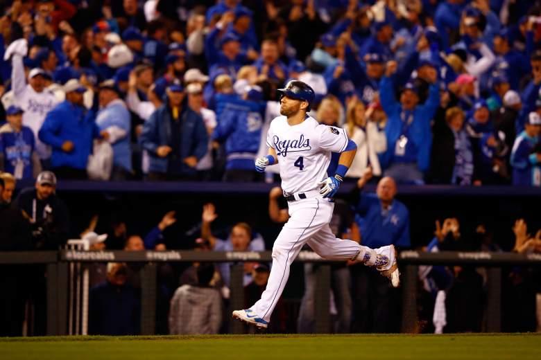 Alex Gordon home run, Alex Gordon tie, World Series