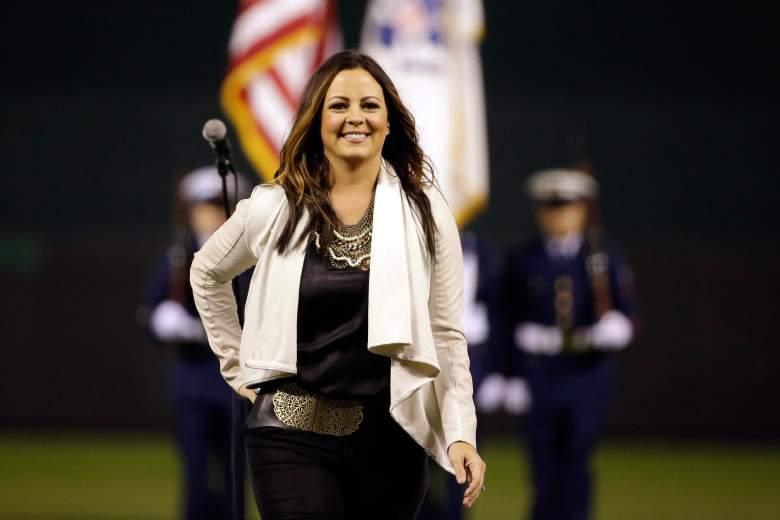 Sara Evans anthem, World Series anthem