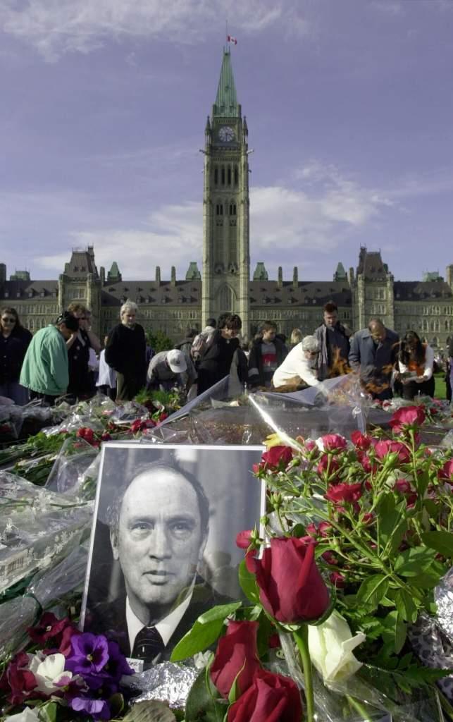 pierre trudeau, justin trudeau's father, canada, prime minister