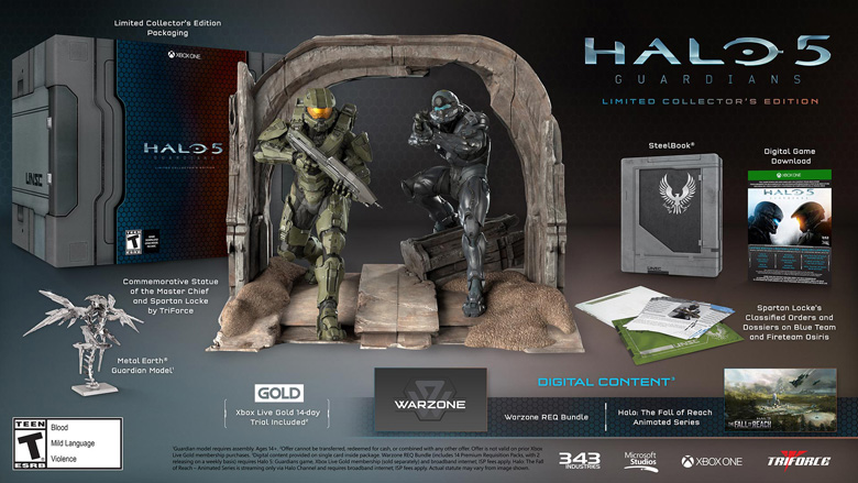 Halo 5 Limited Collectors Edition