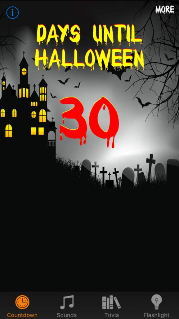 halloween apps, spooky apps, halloween countdown