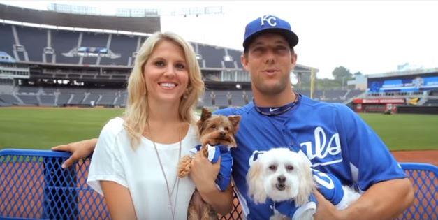 Alex Gordon wife, Jamie Gordon, Kansas City Royals
