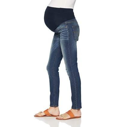 levi skinny maternity jeans