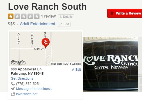 Love Ranch South