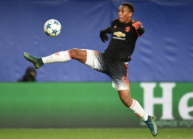 Even though Manchester United drew 1-1 against CSKA Moscow, Anthony Martial was on the mark again for Manchester United, continuing his outstanding season. (Getty)