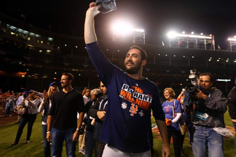 Matt Harvey has been outstanding in leading the Mets to the World Series and will start Game 1 for the Mets on October 27, 2015 in Kansas City, MO. (Getty)