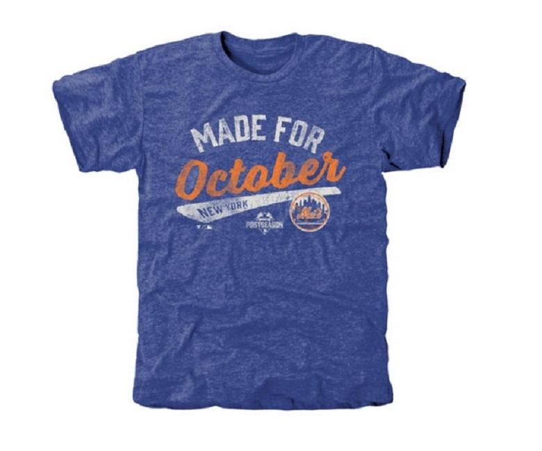 Mets men's Made for October t-shirt Mets gear