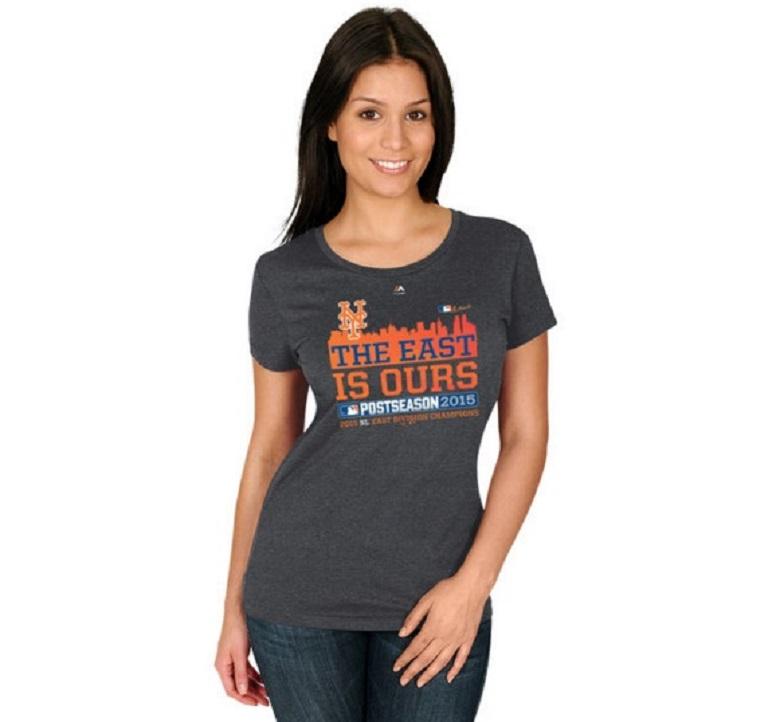 Mets women's NL East champion t-shirt Mets gear