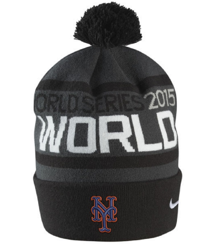 mets world series knit hat mets national league championship gear